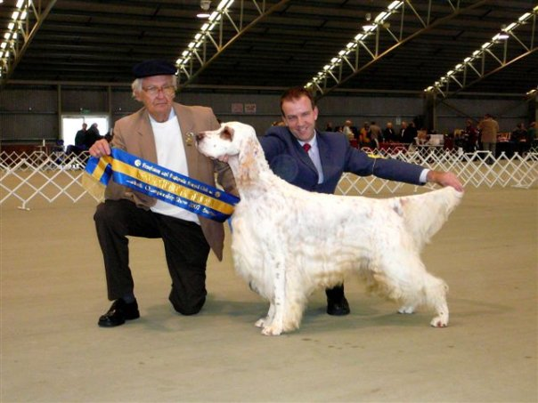 Grand Am. and Aust. Ch. Chebacos Bridgewood Guard (Aemon) (Imp USA)